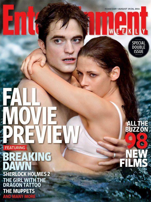 Кадры «Сумерки. Сага. Рассвет» в новом номере Entertainment Weekly