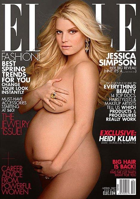 Джессика Симпсон в журнале Elle. Апрель 2012