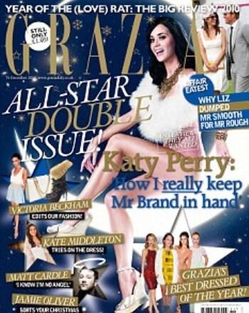 Кэти Перри в журнале Grazia. Январь 2011