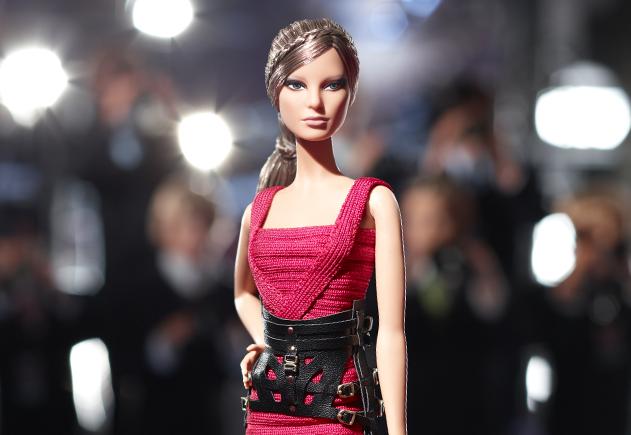 Модная Барби от Hervé Léger