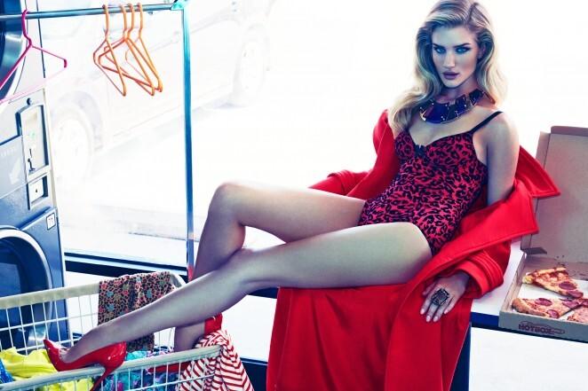 Роузи Хантингтон-Уайтли в журнале Vogue. Мексика. Ноябрь 2014