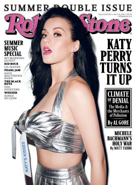 Кэти Перри в журнале Rolling Stone. Июль 2011