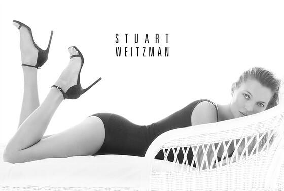 Кейт Мосс в рекламной кампании Stuart Weitzman. Весна 2014
