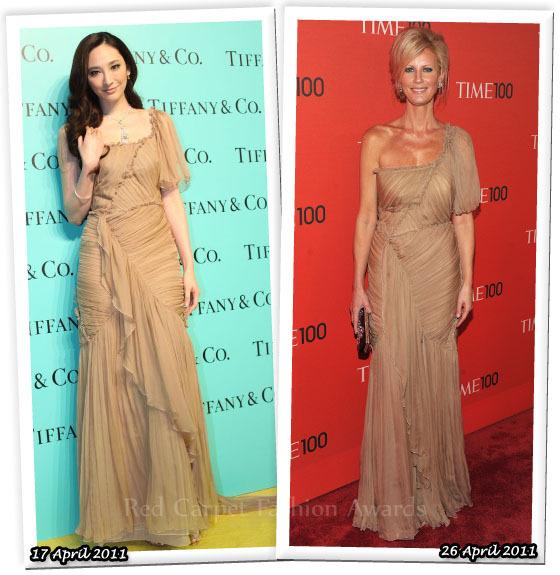 Fashion Battle: Пэйс Ву и Сандра Ли