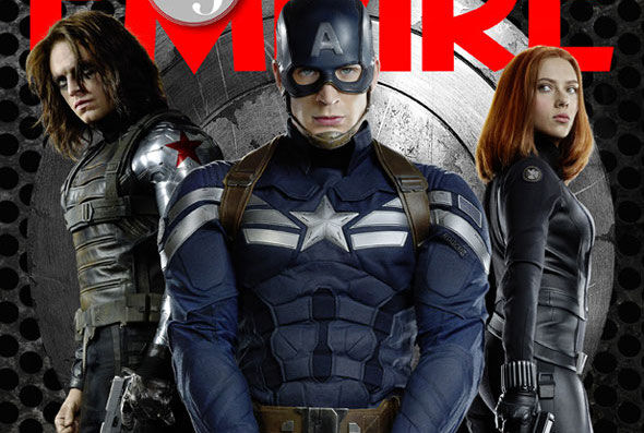 Капитан Америка на обложке Empire