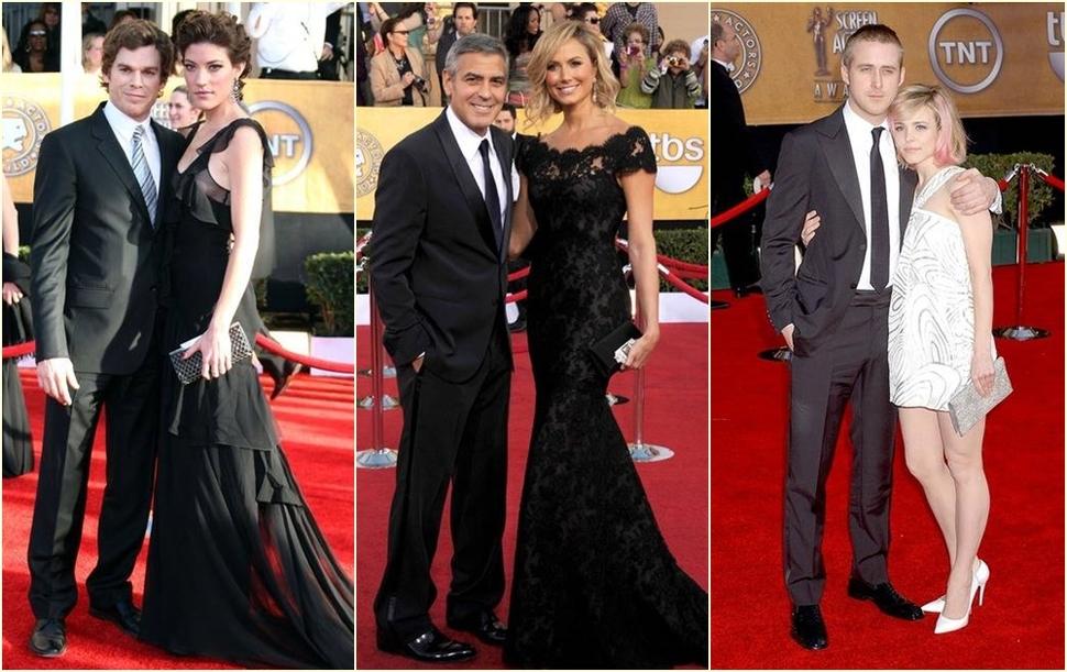 Пятиминутка ностальгии: звездные пары на красной дорожке SAG Awards, которые давным-давно расстались