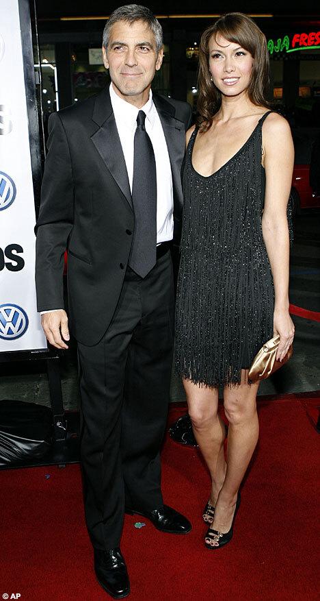 Компромат на девушку Джорджа Клуни