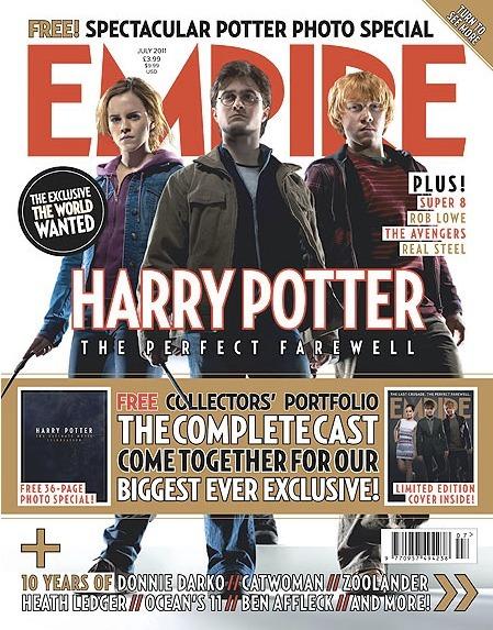 Журнал Empire, посвященный фильму «Гарри Поттер и Дары Смерти. Часть вторая