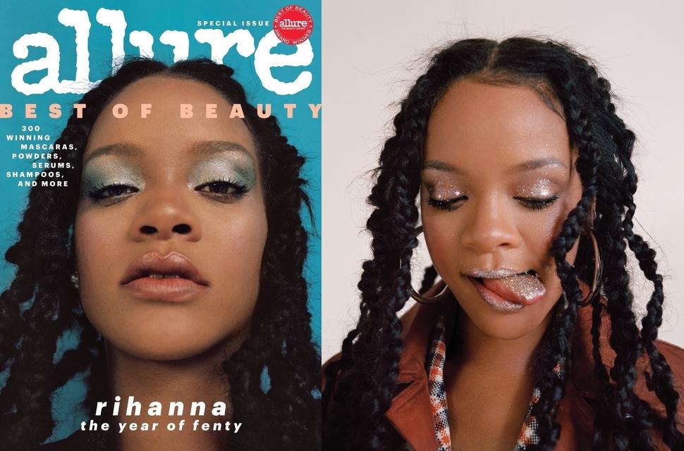 Рианна в фотосессии для октябрьского номера журнала Allure