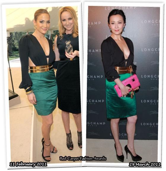 Fashion Battle: Дженнифер Лопес и Карина Лау