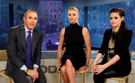 Шарлиз Терон и Кристен Стюарт на Today Show
