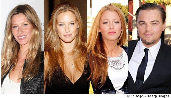 Леонардо ДиКаприо становится старше, а его девушки все такие же молодые