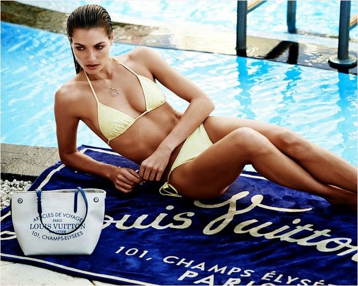 Лукбук новой коллекции Louis Vuitton. Лето 2014