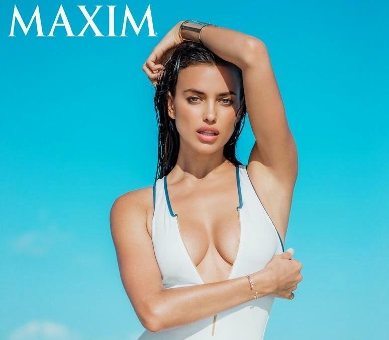 Ирина Шейк в журнале Maxim. Июль / август 2014