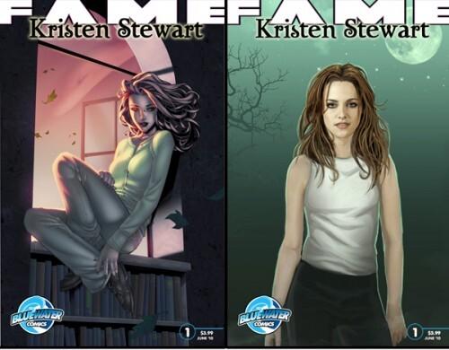 Комиксы о Кристен Стюарт