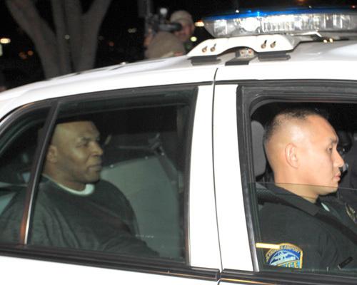 Майк Тайсон арестован