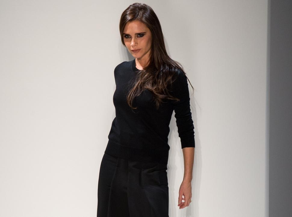Модный показ новой коллекции Victoria Beckham. Осень / зима 2014