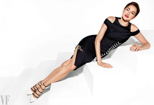 Шейлин Вудли в журнале Vanity Fair. Июль 2014