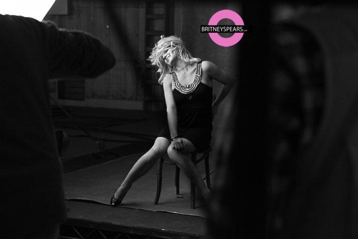 Видео: Бритни Спирс на съемках рекламы Candies + новые фото