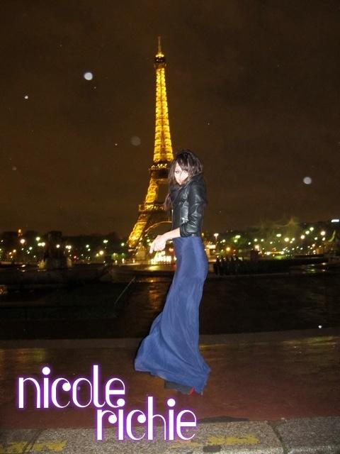 Николь Ричи в Париже