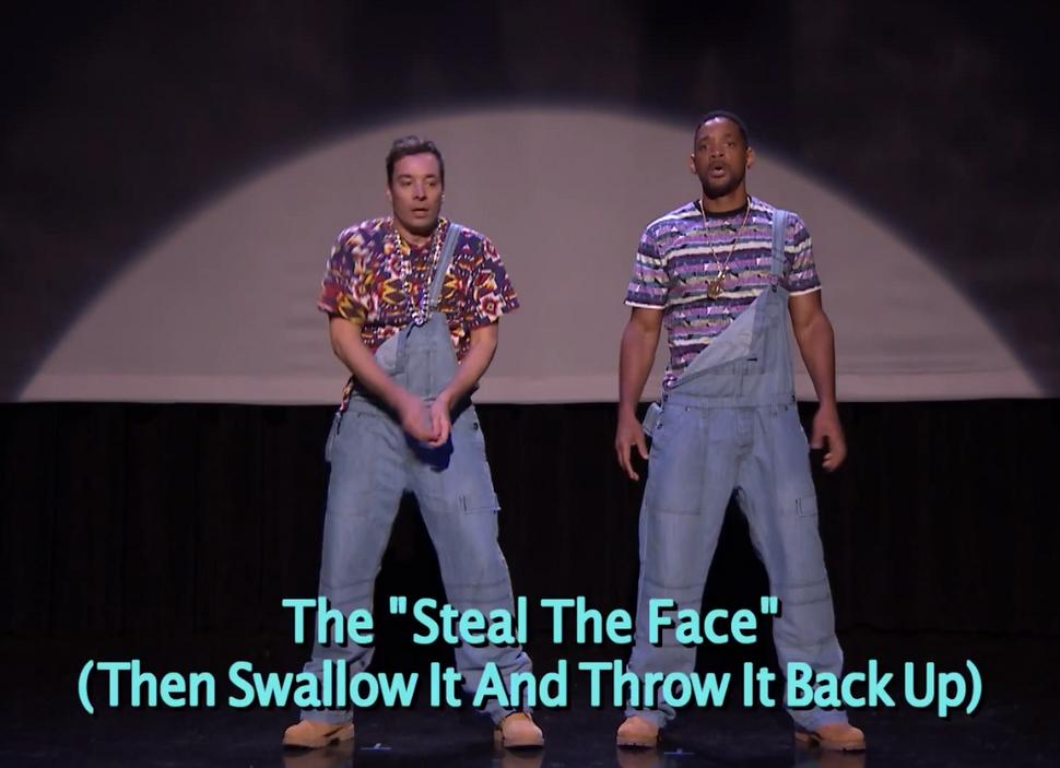 Видео: Уилл Смит и Джимми Фэллон танцуют хип-хоп