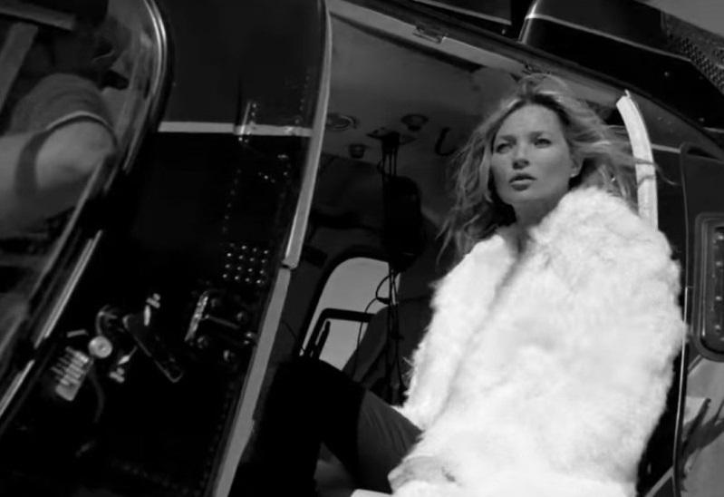 Видео: Кейт Мосс снялась в новой рекламной кампании Saint Laurent
