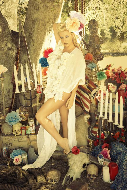 Фотосессия Ke$ha для нового альбома