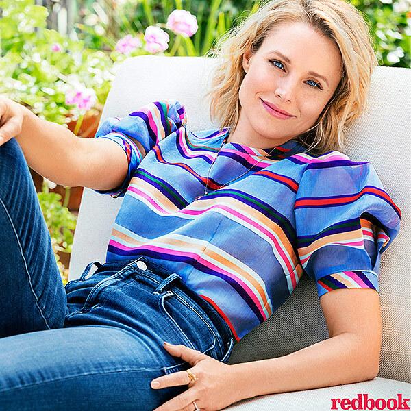 Кристен Белл рассказала о материнстве в журнале Redbook