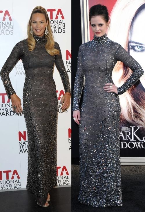 Fashion battle: Эль Макферсон и Ева Грин
