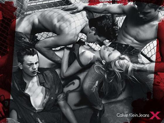 В Австралии запретили рекламу Calvin Klein