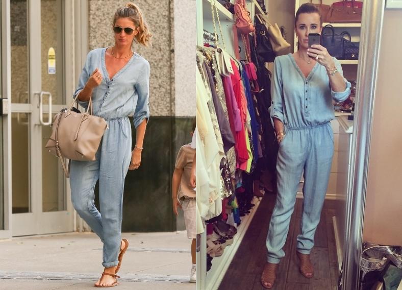 Fashion battle: Жизель Бундхен и Кайл Ричардс