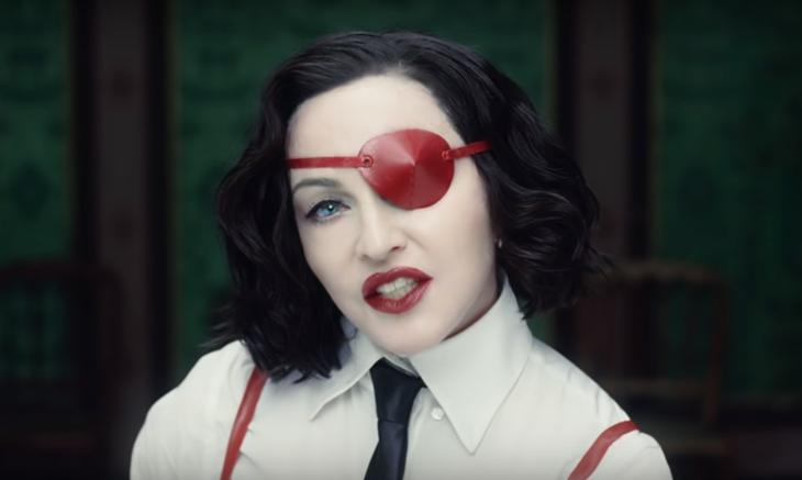 И снова провокация: Мадонна выпустила новый клип после четырёхлетнего перерыва