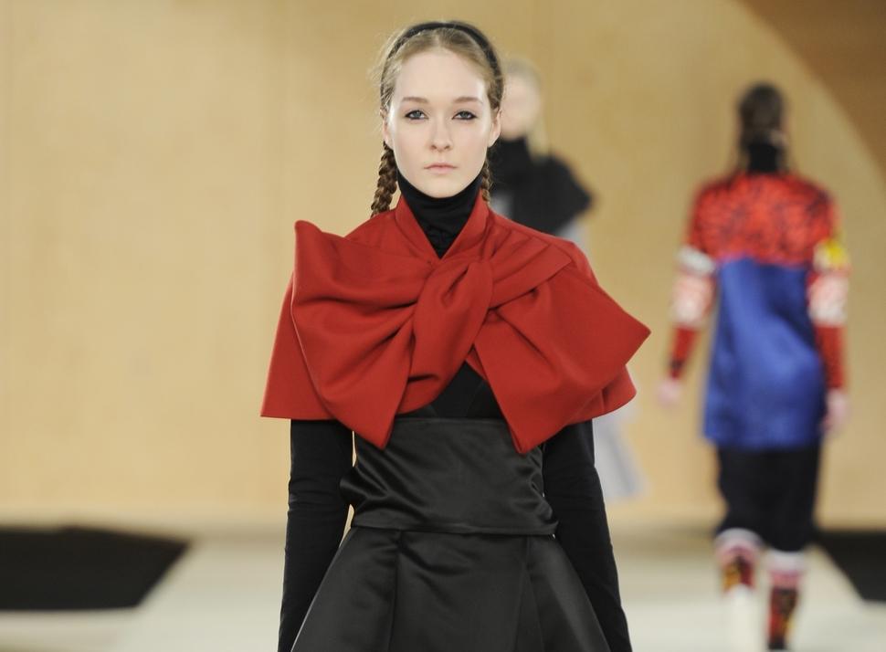 Модный показ новой коллекции Marc by Marc Jacobs. Осень / зима 2014