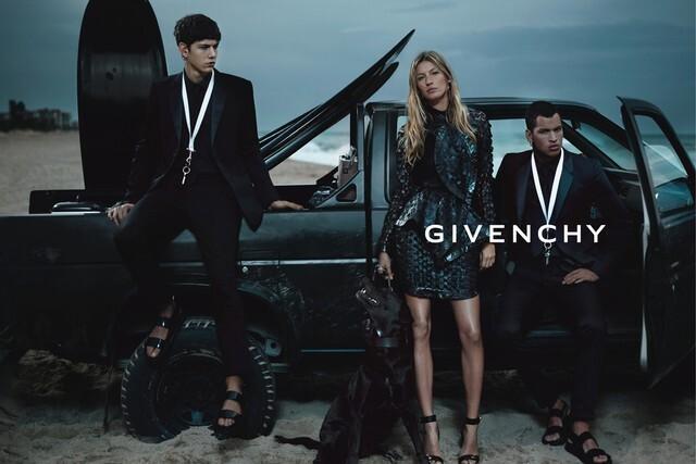 Первый взгляд на Жизель Бундхен в рекламной кампании Givenchy