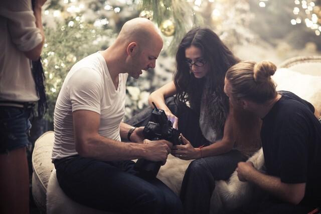 Деми Мур снялась для новой рекламной кампании марки Ann Taylor