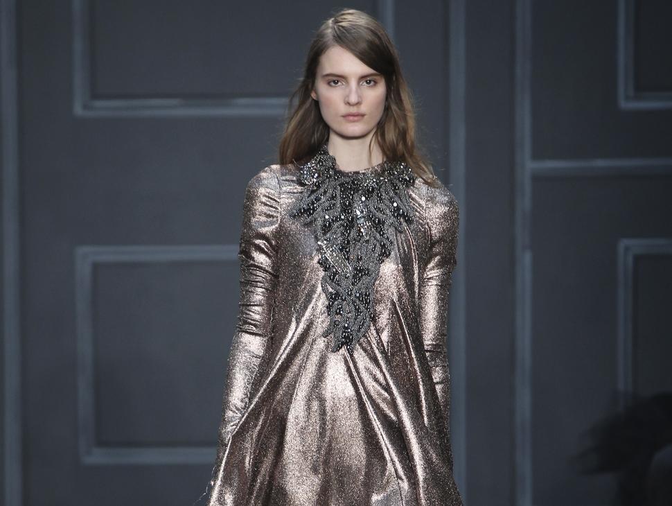 Модный показ новой коллекции Vera Wang. Осень / зима 2014