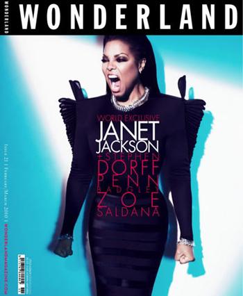 Джанет Джексон в журнале Wonderland