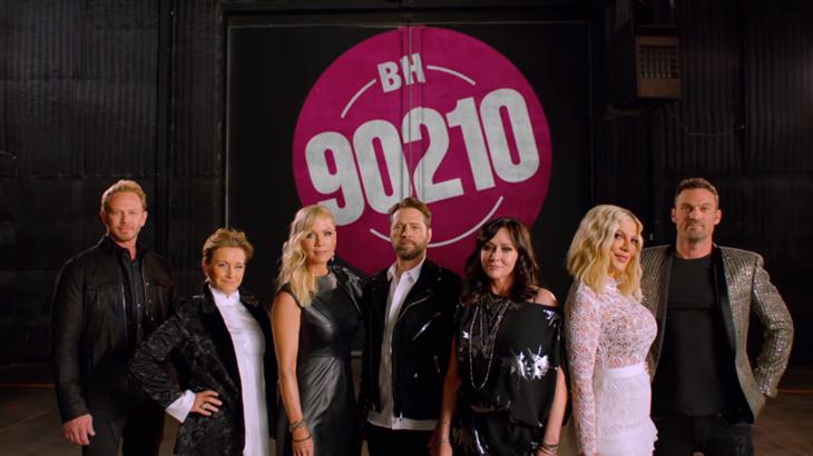 Тори Спеллинг, Шэннен Доэтри и другие в тизер-трейлере продолжения «Беверли-Хиллз 90210»