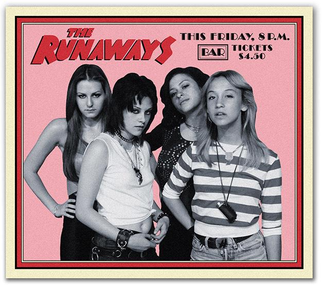 """Промо-фото к фильму """"The Runaways"""""""