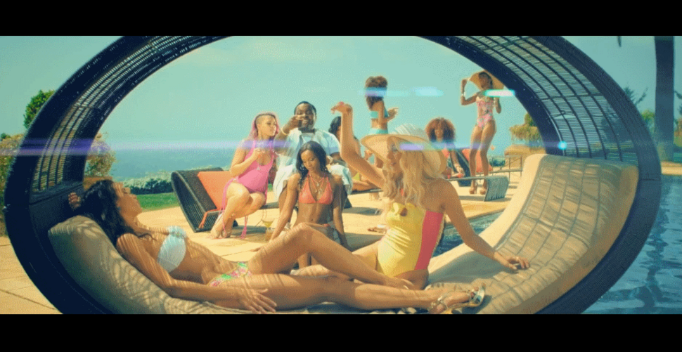 Новый клип Шона Кингстона, Криса Брауна и Уиза Халифа - Beat It