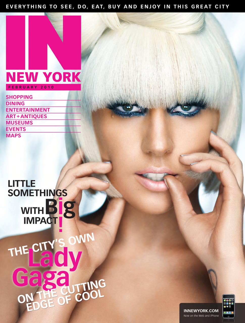 Интервью Lady GaGa журналу IN New York