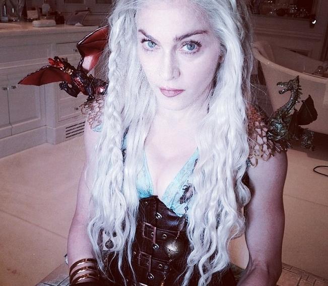 """Мадонна примерила образ из """"Игры престолов"""""""