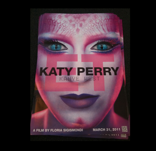 Тизер нового клипа Кэти Перри «ET»