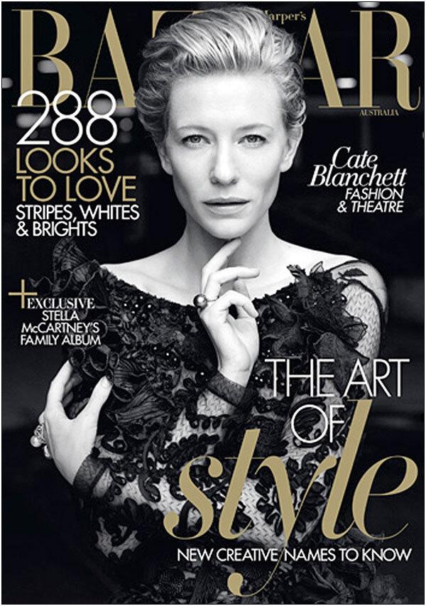 Кейт Бланшетт в журнале Harper's Bazaar Австралия. Май 2011
