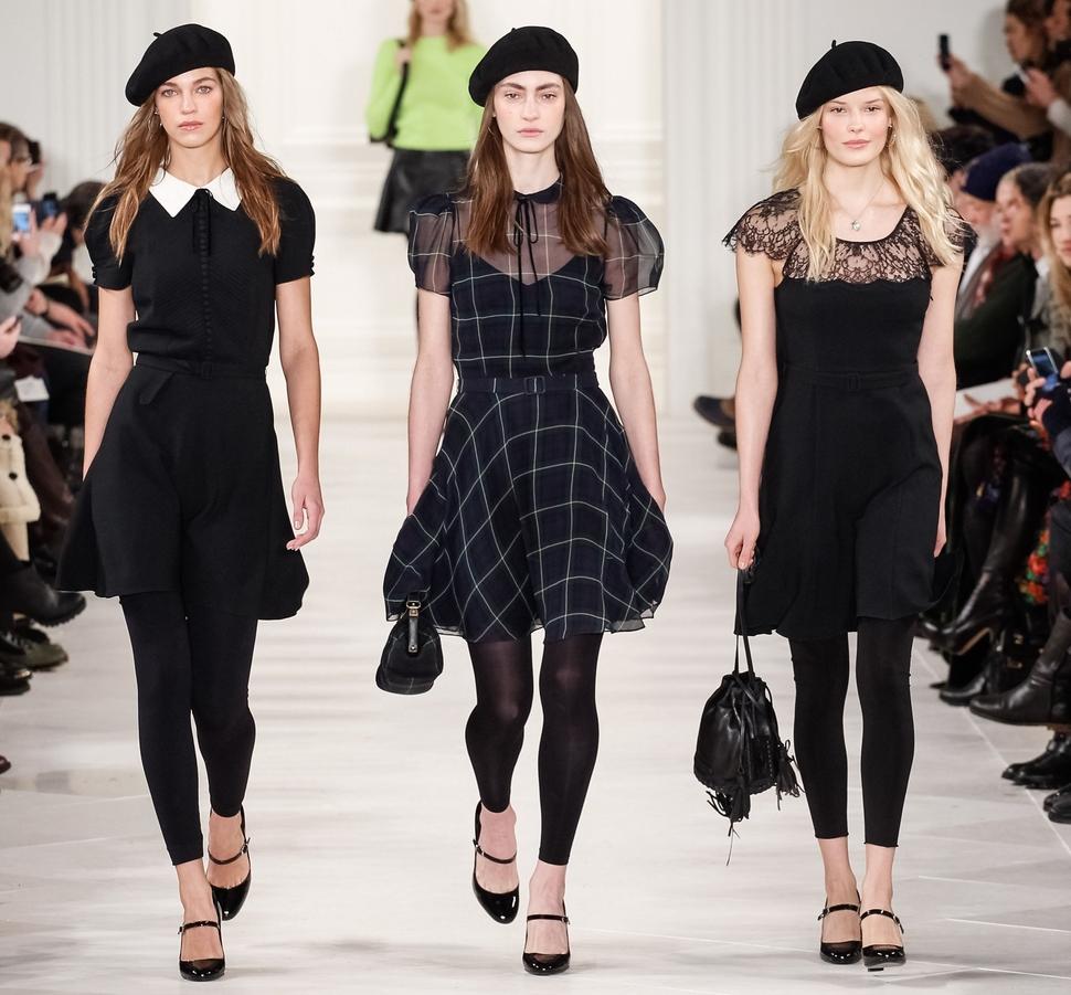 Модный показ новой коллекции Ralph Lauren. Осень / зима 2014