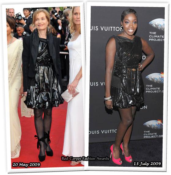Fashion battle: Изабель Юппер и Эстелль