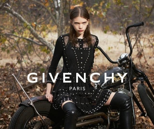 Новая рекламная кампания Givenchy. Весна / лето 2015