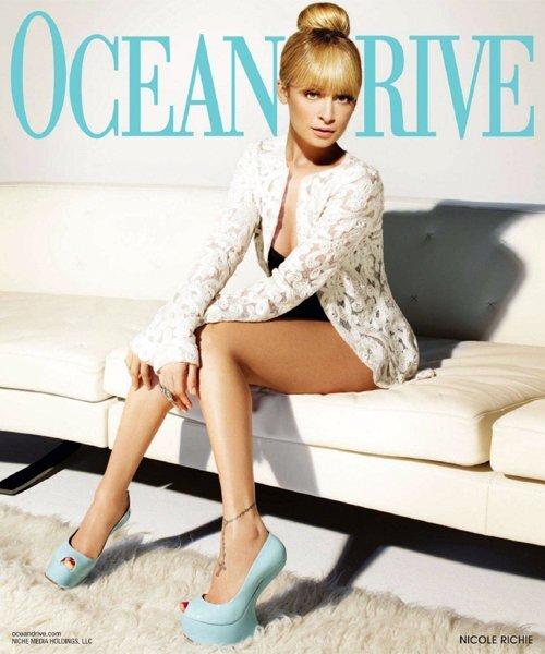 Николь Ричи в журнале Ocean Drive. Март 2012