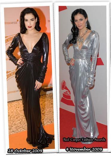 Fashion battle: Дита фон Тиз и Куку Диаманте