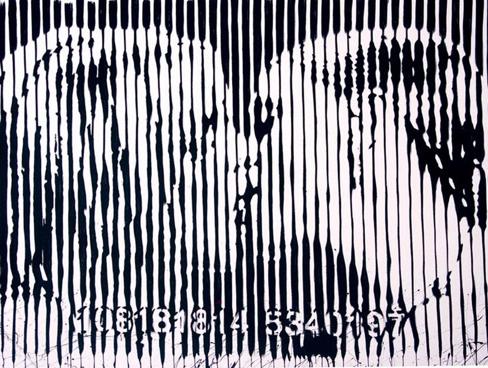 Поцелуй Мадонны и Бритни Спирс запечатлен на картине